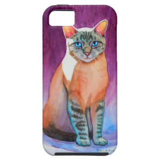 Lynx Point Siamese Cat at Kitty Angels iPhone SE/5/5s Case