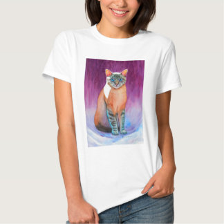 Lynx Point Siamese Cat at Kitty Angels Shirt