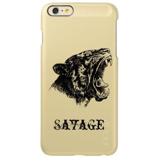 Lynx Savage Incipio Feather Shine iPhone 6 Plus Case
