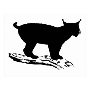 lynx silhouette gifts on zazzle