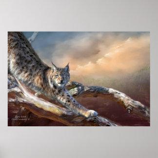 Lynx Spirit Art Poster/Print