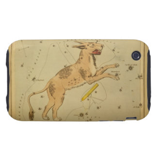 Lynx - Vintage Astronomical Star Chart Image Tough iPhone 3 Covers