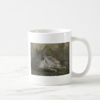 Lynx wild animal from north america coffee mug
