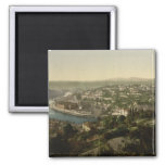 Lyon Cityview, France Refrigerator Magnet