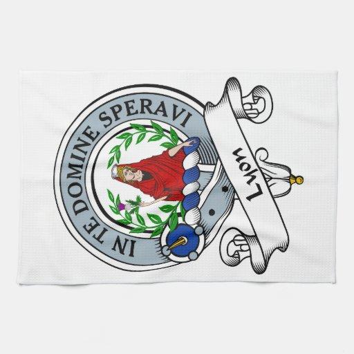 Lyon Clan Badge Kitchen Towels