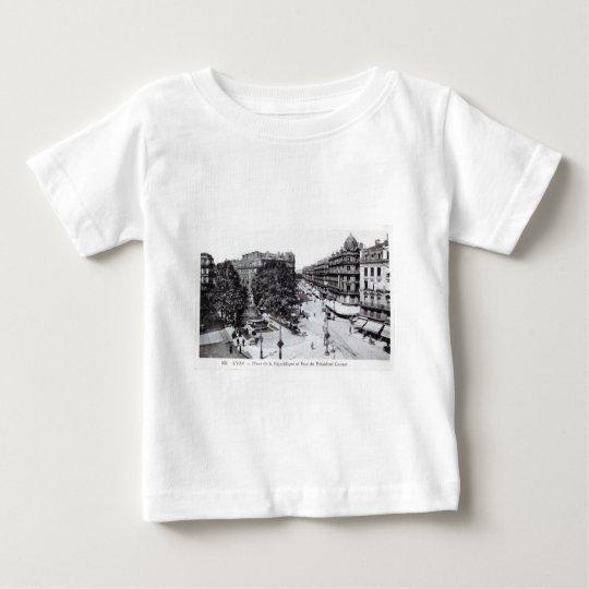 Lyon, France 1910 Vintage Baby T-Shirt