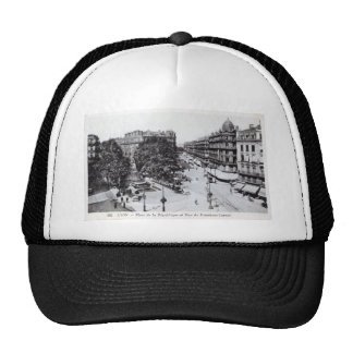 Lyon, France 1910 Vintage Trucker Hat