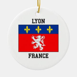 Lyon France Ceramic Ornament