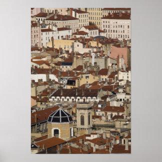 Lyon, France Poster