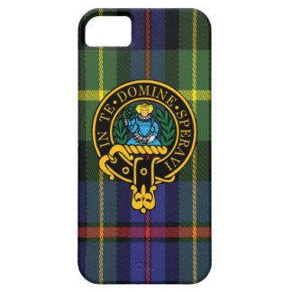 Lyon Scottish Crest and Tartan iPhone 5/5S case