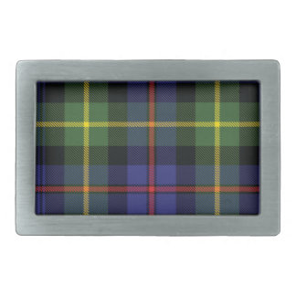 Lyon Scottish Tartan Belt Buckle