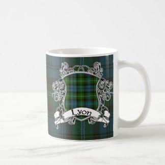 Lyon Tartan Shield Coffee Mug