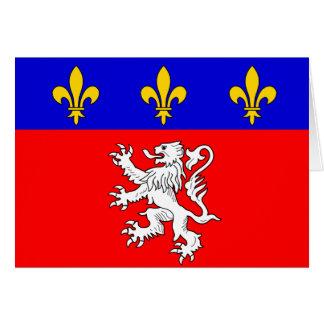 Lyonnais, Francia Tarjeta De Felicitación