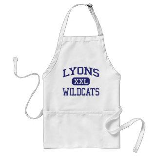 Lyons Wildcats Middle School Clinton Iowa Apron