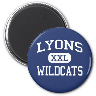 Lyons Wildcats Middle School Clinton Iowa Magnet