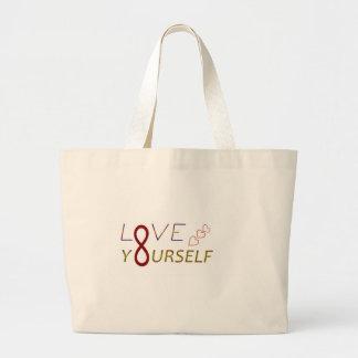 lyourseld copy.jpg large tote bag