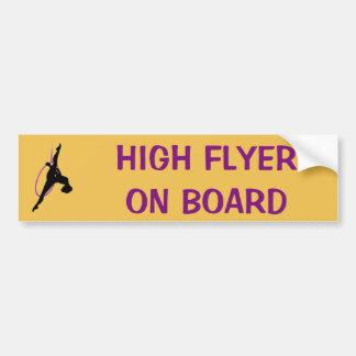 Lyra Car Bumper Sticker