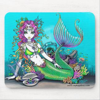 Lyra Tropical Rainbow Mermaid Mouspad Mouse Pad