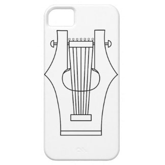 Lyre (lyra) - instrumento del griego clásico funda para iPhone SE/5/5s