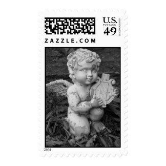 Lyre Stamp