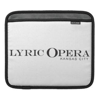 Lyric Opera of Kansas City iPad Case Sleeves For iPads