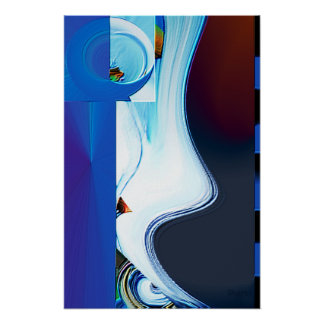"""Lyrica"" Abstract Poster"