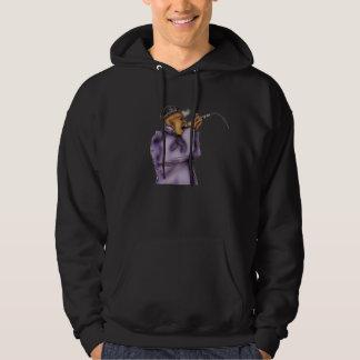 Lyrical Artists Blk Hoodie w purple image