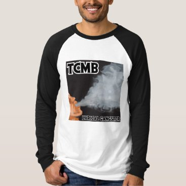 Beach Themed Lyrical Gangster - Mens Raglan T-Shirt