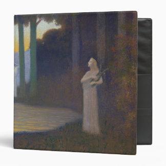 Lyricism in the Forest, 1910 3 Ring Binder