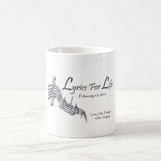 Lyrics For Life Coffee Mug