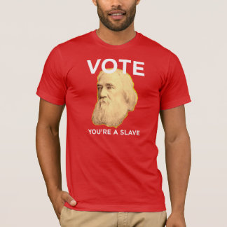 Lysander Spooner No masters No Slaves T-Shirt