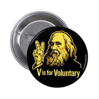 Lysander Spooner Voluntaryism Buttons Buttons