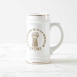 Lysdexics fo teh Wrold Beer Stein
