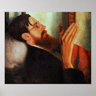 Lytton Strachey, 1916 Póster
