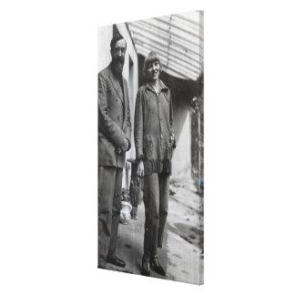 Lytton Strachey and Iris Tree Canvas Print