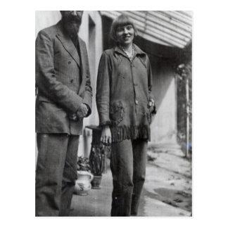 Lytton Strachey y árbol del iris Tarjeta Postal