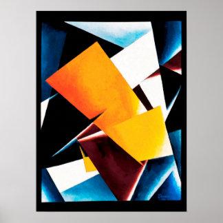Lyubov Popova - Painterly Architectonic Poster