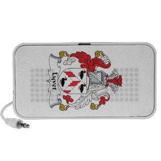 Lyvet Family Crest iPod Speakers