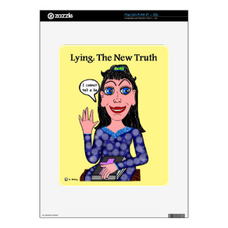 Lyza is Lying: The New Truth iPad Skins