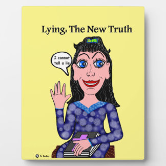 Lyza is Lying: The New Truth Plaque