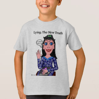 Lyza is Lying: The New Truth T-Shirt
