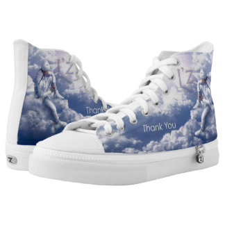 L'z High Tops Printed Shoes