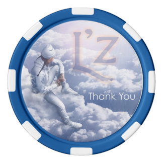 "L'z ""le agradece las fichas de póker juego de fichas de póquer"