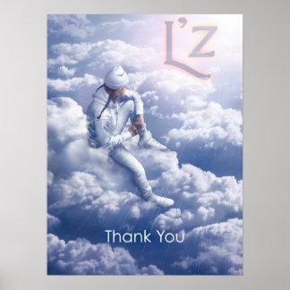 """L'z """"Thank You"""" 18"""" x 24"""", Poster (Matte)"""