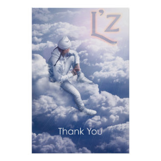 """L'z """"Thank You"""" 24"""" x 36"""", Poster (Matte)"""