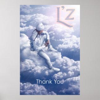 """L'z """"Thank You"""" 32"""" x 48"""", Poster (Matte)"""
