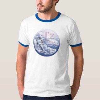 """L'z """"Thank You"""" Basic Ringer T-Shirt"""