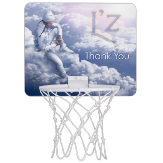 "L'z ""Thank You"" Mini Basketball Goal Mini Basketball Backboard"
