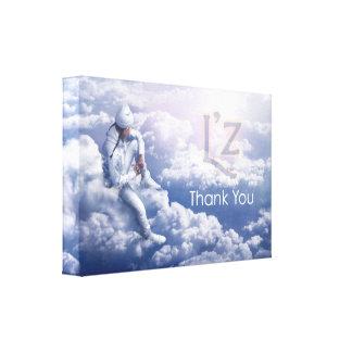 """L'z """"Thank You"""" Premium Wrap Canvas 24""""x16"""", 1.5"""""""