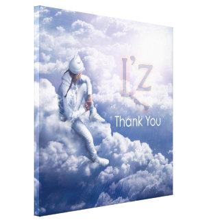 """L'z-""""Thank You"""" Premium Wrap Canvas 36""""x36"""", 1.5"""""""